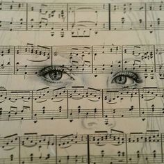 Pen drawing - will be posting some pictures of my current project on identity .  .  .  .  .  #eyedrawing #eye #eyes #drawing #pendrawing #music #musicnotes #focus #focalpoint #art #artwork #pen #doubleexposure #detailed #artist #identity #selfportrait