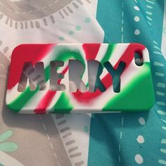 Christmas iPhone 5 case Only used for two days. Just used for Christmas Accessories Phone Cases
