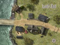 Land's End by hero339   Create your own roleplaying game books w/ RPG Bard: www.rpgbard.com   Pathfinder PFRPG Dungeons and Dragons ADND DND OGL d20 OSR OSRIC Warhammer 40000 40k Fantasy Roleplay WFRP Star Wars Exalted World of Darkness Dragon Age Iron Kingdoms Fate Core System Savage Worlds Shadowrun Dungeon Crawl Classics DCC Call of Cthulhu CoC Basic Role Playing BRP Traveller Battletech The One Ring TOR fantasy science fiction horror