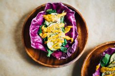 Purple Cabbage Tacos w/ Tangy Chipotle Aioli