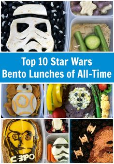 Top 10 Star Wars lunches to make for your kids