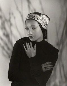 1933 Anna May Wong--decaying hollywood mansion's