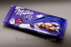 283:365:2013 - Happy Cows Milka Alpine Milk and White Chocolate. Yummy!