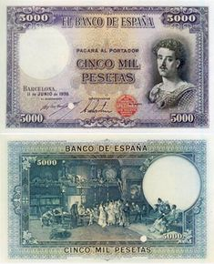 El billete no emitido de 5.000 pesetas (1938) | numismaticodigital.com
