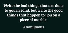 Write the bad things that are done to you in... #quotes