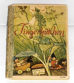 """altes Kinderbuch """"Fingerhütchen"""" Elfenmärchen Conrad F. Meyer / Else Wenz-Vietor EUR 8.00"""