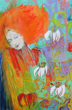 """To Call Myself Beloved- 9""""x12"""" Fine Art Reproducion by Maria Pace-Wynters ($70)"""
