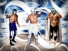 LEYENDAS                            Siguiente  Blue Demon, Santo El Enmascarado De Plata y Mil Mascaras.