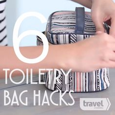 Smart Packing Tricks That Will Make Your Trip So Much Easier 6 Toiletry Bag Travel Hacks - Tap the link to shop on our official online store! You can also join our affiliate and/or rewards programs for FREE! Smart Packing, Vacation Packing, Packing Tips For Travel, New Travel, Travel Essentials, Solo Travel, Travel Bags, Family Travel, Packing Tricks
