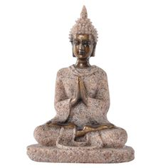 MagiDeal The Hue Sandstone Meditation Buddha Statue Sculpture Hand Carved Figurine Home Office Decor Stone Buddha Statue, Meditating Buddha Statue, Buddha Meditation, Meditation Stones, Buddha Statues, Buddha Buddha, Meditation Space, Wicca, Feng Shui Ornaments