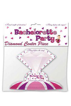 Bachelorette Party Diamond Ring Centerpiece At Mykarnation.com