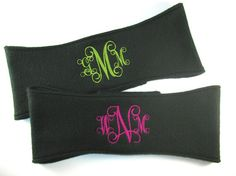 Monogrammed Fleece Headband Fleece Ear Warmer  by iam4expression, $8.00