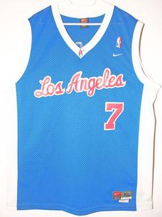 59ec155d5e9b3 ... Details zu Nike NBA Basketball Vintage Trikot Jersey Los Angeles  Clippers Lamar Odom 48 XL ...