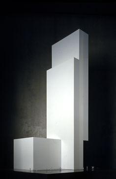 Hotel ME Barcelona  Model / Dominique Perrault Architecture #Barcelona #Catalonia