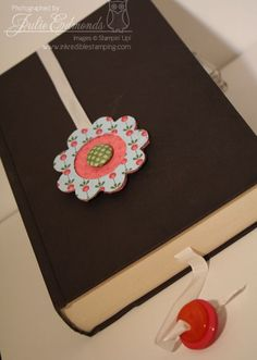 Crafty Bookmarks for Cozy Books - Inkredible Stamping with Julie