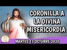 Coronilla a la DIVINA MISERICORDIA ► MARTES 13 OCTUBRE 2020 ✞Rosario de la MISERICORDIA - YouTube Religion, Youtube, Divine Mercy, Rosaries, Crowns, Dios, Youtubers, Youtube Movies