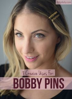 Pin it: 8 seriously clever ways to use bobby pins  | hair styles beauty 2 galleries featured hp main feature beauty 2  picture