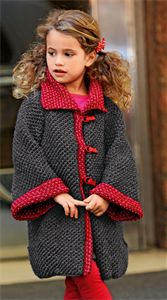 Childrens Knitting Patterns Coat Pattern 287.771