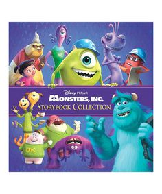 Another great find on #zulily! Monsters, Inc. Storybook Collection Hardcover #zulilyfinds
