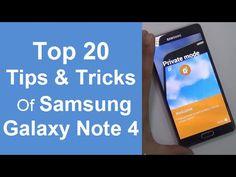20 Best Tips, Tricks & Hidden Features Of Samsung Galaxy Note 4- Must Wa...