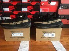 "New Adidas Yeezy 350 V2 Boost Low ""Black/Green"" BY9611 | Kixify Marketplace"