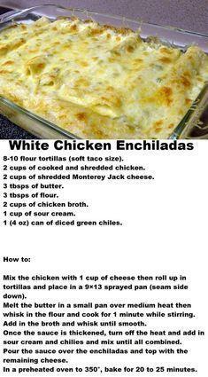 Casserole Recipes, Soup Recipes, Cooking Recipes, Keto Recipes, Potato Casserole, Crockpot Recipes, Hamburger Casserole, White Chicken Enchiladas, Gourmet