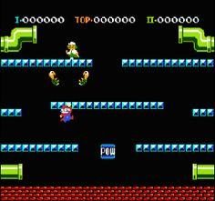 The original Mario Bros. Game