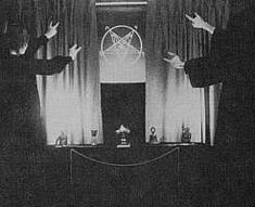Haxon witchcraft symbols and rituals | Once again, you can see the importance of horns representing Satan to ...