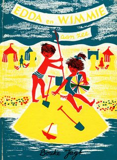 A beautiful vintage children's book cover by Ninainvorm, via Flickr