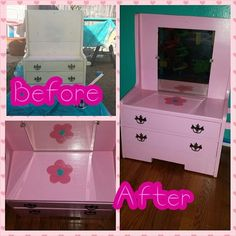 DIY/Upcycle Kid's Vanity