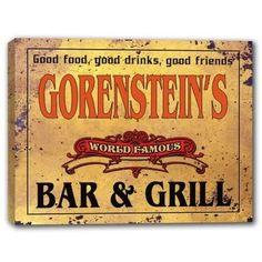 GORENSTEIN'S World Famous Bar & Grill Canvas Sign J Edgar... https://www.amazon.com/dp/B01K3RJEO2/ref=cm_sw_r_pi_dp_x_wEUWyb94WZZJV