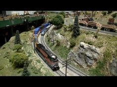 HO Model Trains with Real Sound - YouTube
