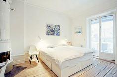 decoracion casas blanco y madera