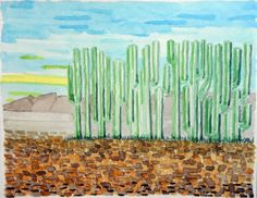 Buy Il recinto dei cactus, Watercolour by Piergiorgio Rossi on Artfinder. Discover thousands of other original paintings, prints, sculptures and photography from independent artists.