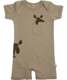 91c56468229c8 Urban elk peekaboo elk short bodysuit New Baby Boys