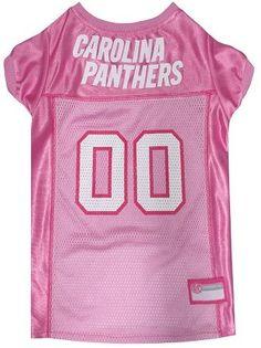 Carolina Panthers Pink Jersey. Dog ShirtDog FootballPanther FootballPet ... c56914775