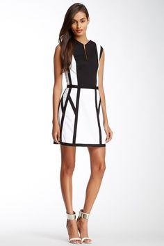 Graphic Spear Dress by Robert Rodriguez on @HauteLook