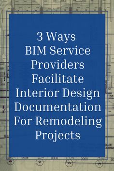 Use of BIM can help designers execute remodeling or renovation projects flawlessly. Today we're discussing three ways BIM service providers facilitate Interior Design Documentation for remodeling projects. ✅Click on the link . . . #theaecassociates #BIMServices #bimoutsource #interiordesigning #bimoutsourcing #bimmodeling #bim #interiordesign #renovation #architecturedesign
