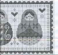 "Gallery.ru / mornela - Альбом ""Дела сердечные"" Cross Stitch Christmas Cards, Hand Stitching, Cross Stitch Patterns, Embroidery, Dolls, Xmas, Cross Stitch, Dot Patterns, Baby Dolls"