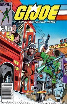 G.I. Joe Marvel Comics Issue# 17