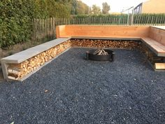 Schöner Kamin mit Whirlpool Terrasse Jardin Idees Nice fireplace with jacuzzi terrace Jardin Idees beautiful Garden Fire Pit, Fire Pit Backyard, Backyard Patio, Backyard Landscaping, Backyard Seating, Fire Pit Under Gazebo, Backyard Designs, Diy Fire Pit, Garden Seating