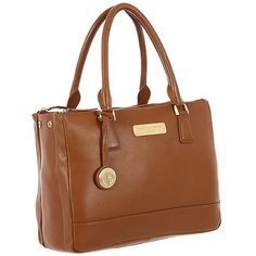 Pure Luxuries London Tan 'Jodie' fine leather bag - Deluxe Collection | Debenhams