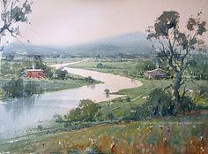 watercolor landscape - Buscar con Google