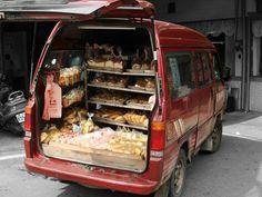 bread van  #Taiwan 台灣