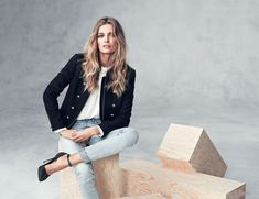 Edita Vilkeviciute Models Fall/Winter Styles for H&M
