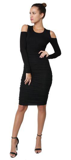 Zaha Dress Black
