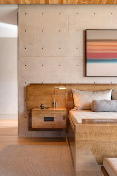 Angular Rammed Earth Home created by Kendle Design Collaborative in a beautiful mountain valley Contemporary Bedroom, Contemporary Furniture, Contemporary Design, Contemporary Building, Kitchen Contemporary, Modern Bedrooms, Contemporary Apartment, Contemporary Wallpaper, Contemporary Chandelier