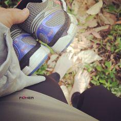 Post training walk home... :)