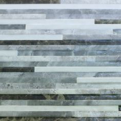 250x500mm Lineal Grafito Mixed Grey Strips Ceramic Wall Tile (#4052) - Tile Factory Outlet Pty Ltd