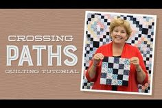 "Make a ""Crossing Paths"" Quilt with Jenny!"